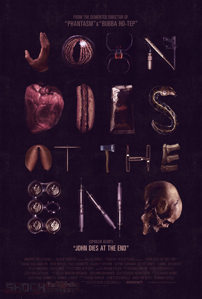 John Dies At the End Don Coscarelli poster
