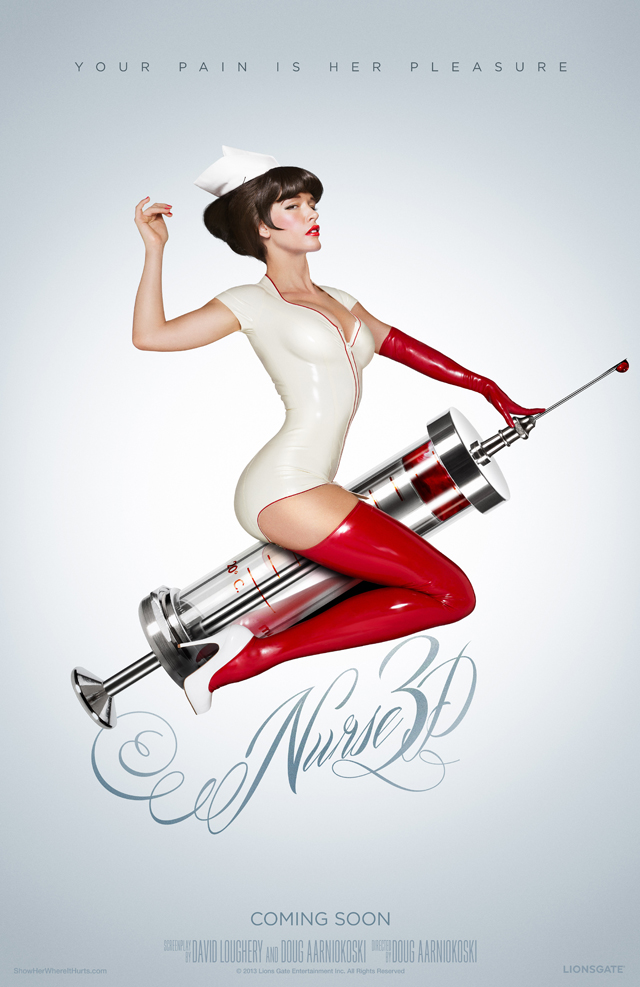 Nurse 3d Finally Gets A Release Date Updated Poster Comingsoon Net