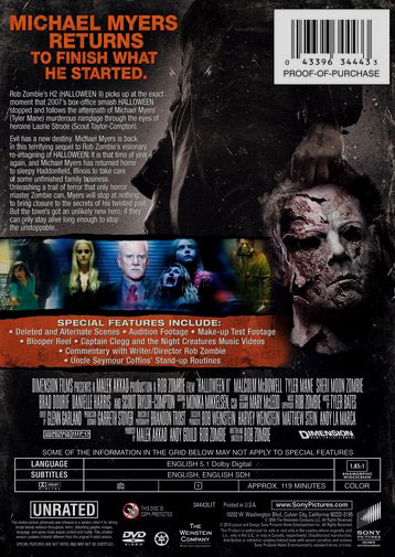 captain clegg and the night creatures music videos - Halloween Ii Blu Ray