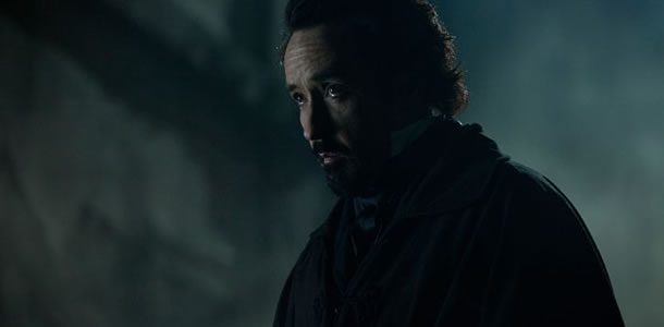 The Raven movie review John Cusack