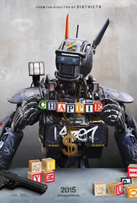 Chappie on DVD Blu-ray today