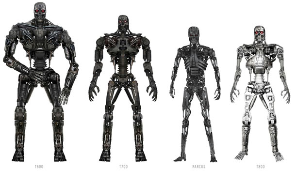 Terminator Robot Types New Types of Killer Robots And