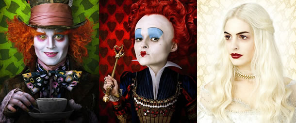 First Look at the Characters and Concept Art of Tim Burton ... Johnny Depp Google