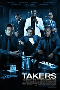 'Takers' Movie Poster