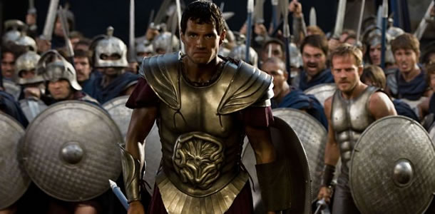 Immortals was one of the last pre-Man of Steel Henry Cavill movies.
