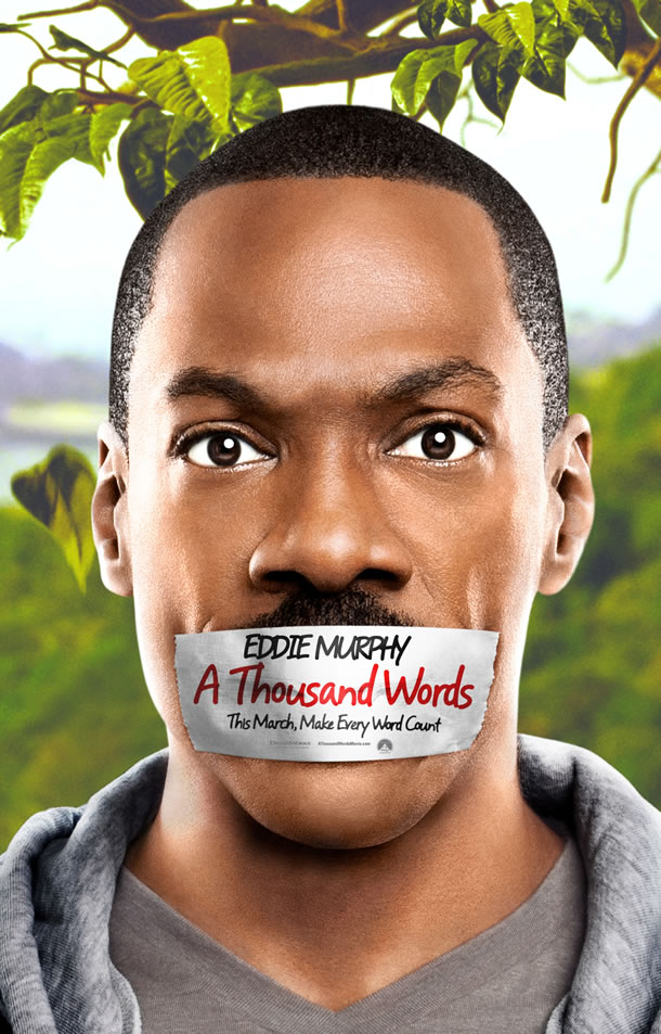 Eddie Murphy A Thousand Words poster