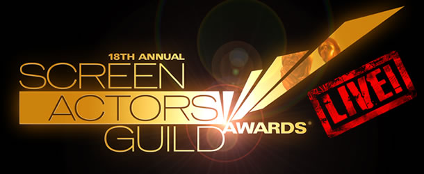 2012 Screen Actors Guild Awards Live Blog: Winners and Commentary