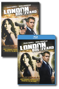 London Boulevard on DVD Blu-ray today