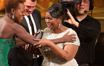 Octavia Spencer at the 2012 Oscars