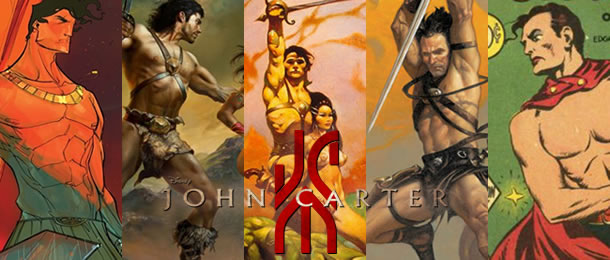 John Carter through the years