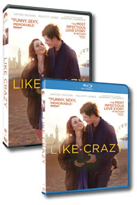 Like Crazy on DVD Blu-ray today