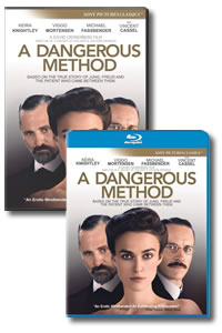 A Dangerous Method on DVD Blu-ray today