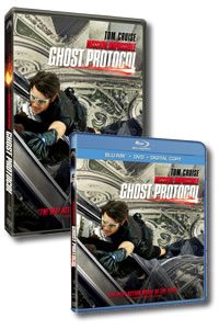 Mission: Impossible - Ghost Protocol on DVD Blu-ray today