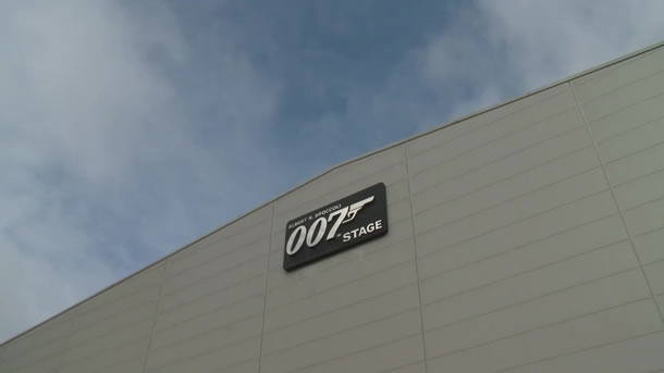 James Bond set at Pinewood Studios