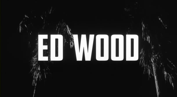 Ed Wood title treatment