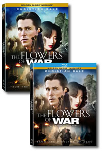 The Flowers of War on DVD Blu-ray today