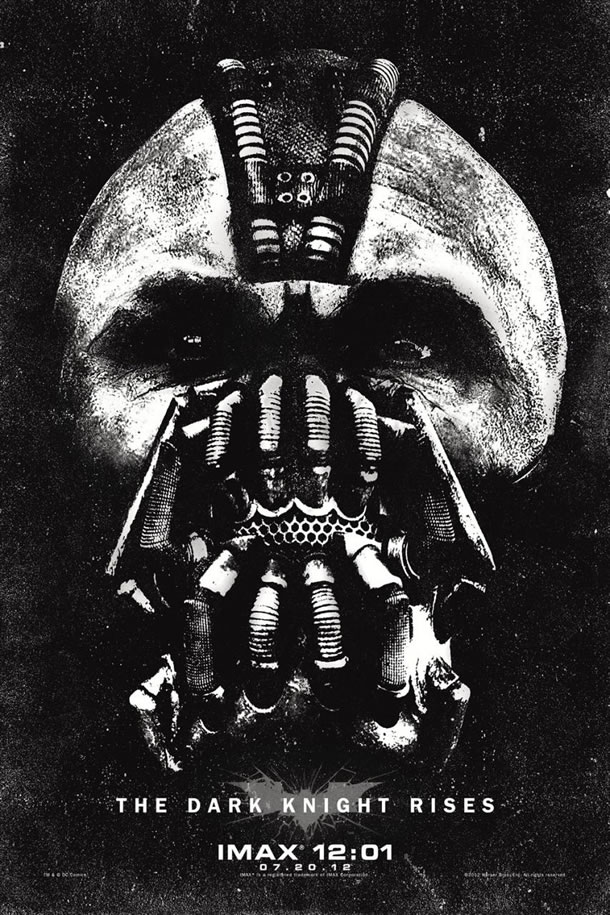 Dark Knight Rises IMAX midnight poster