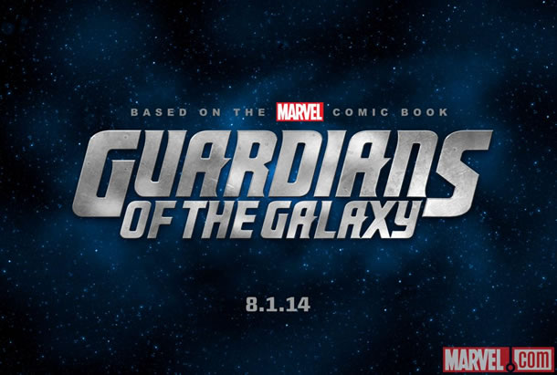 Guardians of the Galaxy title treatment