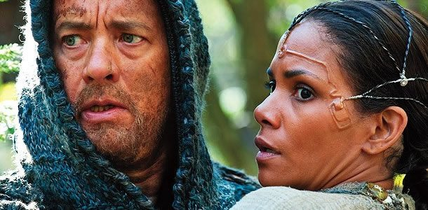 Tom Hanks and Halle Berry in Cloud Atlas