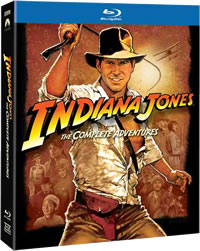 Indiana Jones: The Complete Adventures on DVD Blu-ray today