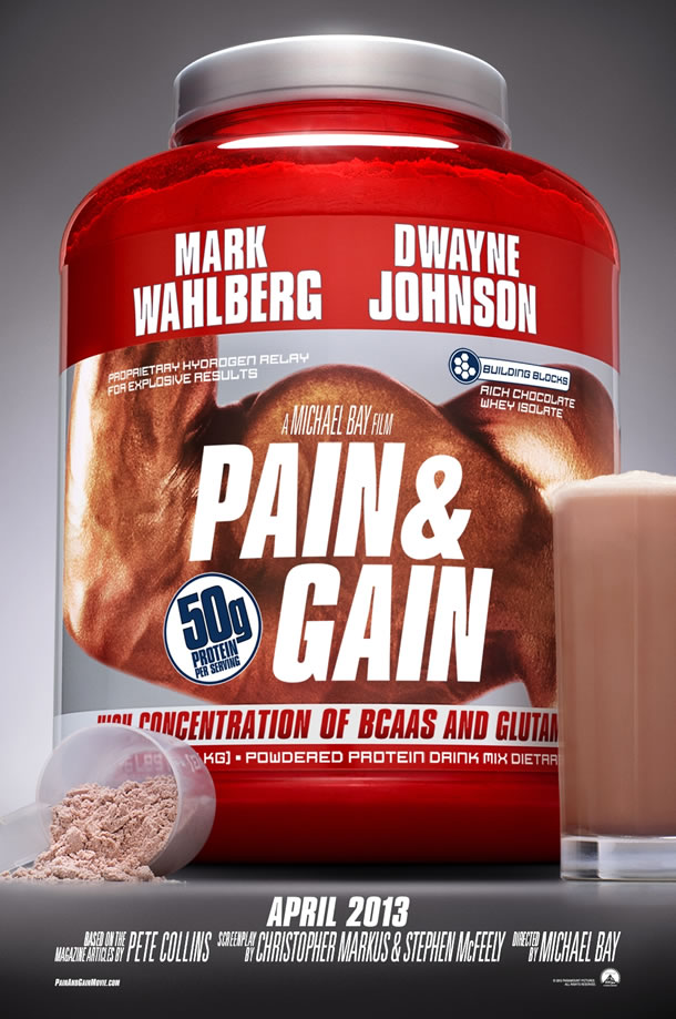 Pain and Gain movie poster