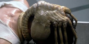 Facehugger in Alien