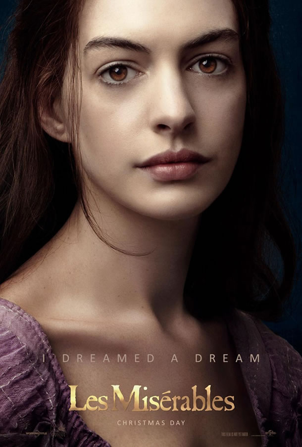 Les Miserables - Anne Hathaway Character Poster