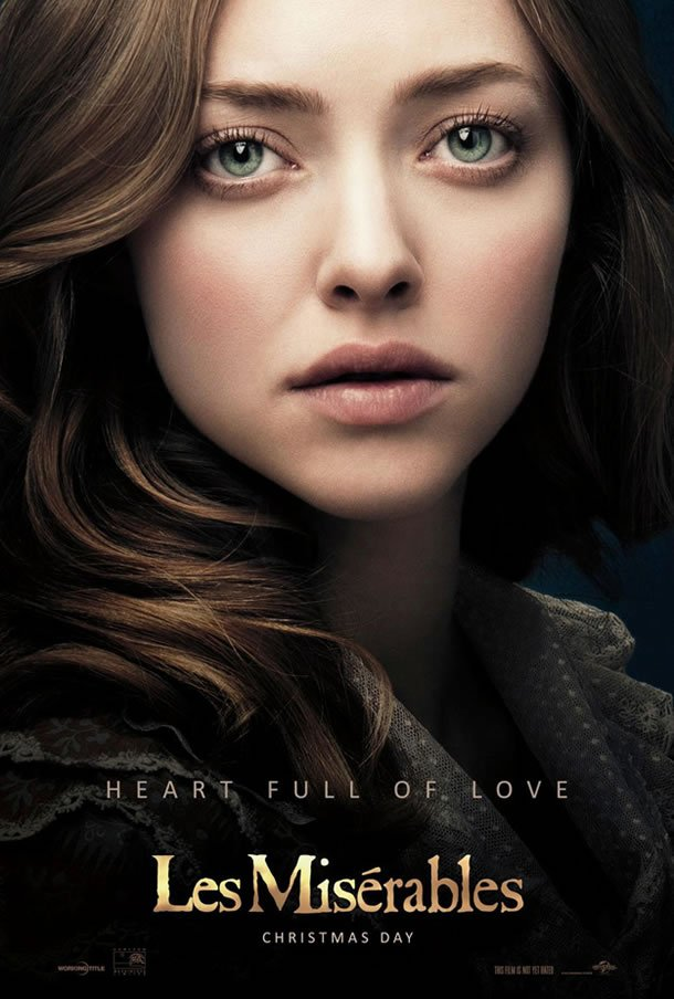 Les Miserables - Amanda Seyfried Character Poster