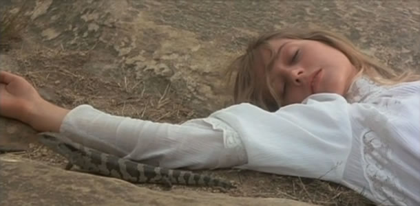 Jane Vallis in Picnic at Hanging Rock