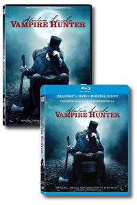 Abraham Lincoln: Vampire Hunter on DVD Blu-ray today