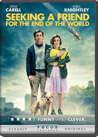 Seeking a Friend for the End of the World on DVD Blu-ray today