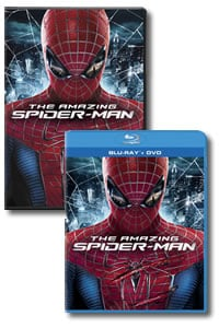 The Amazing Spider-Man on DVD Blu-ray today
