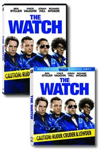 The Watch on DVD Blu-ray today