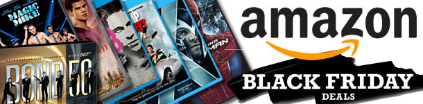 Amazon Black Friday 2012 Deals - DVDs and Blu-ray