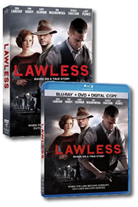 Lawless on DVD Blu-ray today