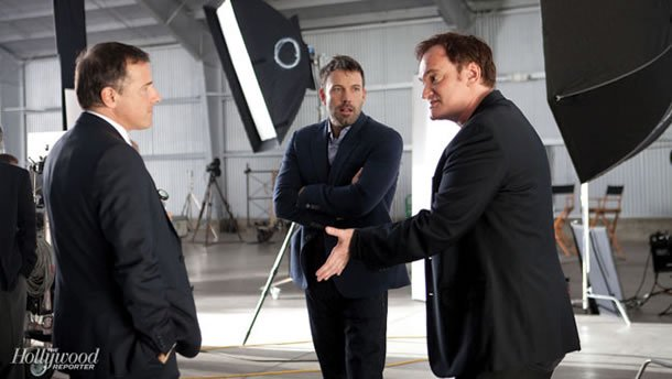 David O. Russell, Ben Affleck and Quentin Tarantino
