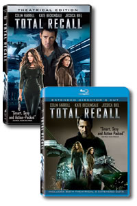 Total Recall [2012] on DVD Blu-ray today