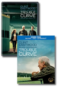 Trouble with the Curve on DVD Blu-ray today