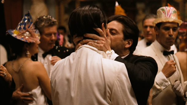 John Cazale and Al Pacino in The Godfather: Part II