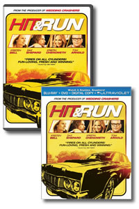 Hit and Run on DVD Blu-ray today