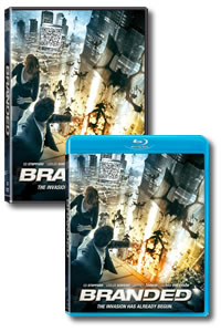 Branded on DVD Blu-ray today