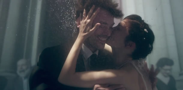 Romain Duris and Audrey Tautou in Mood Indigo