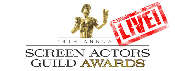 2013 Screen Actors Guild Awards Live Blog