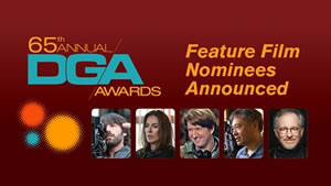2013 DGA Award nominees