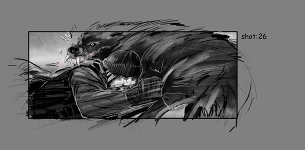 Grey Final Fight storyboard