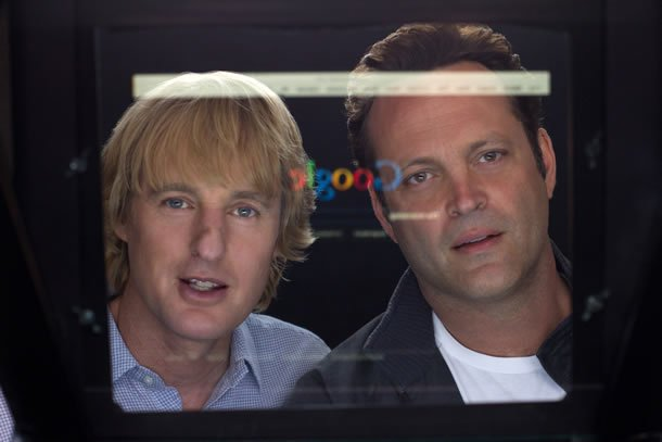 Owen Wilson and Vince Vaughn in The Internship