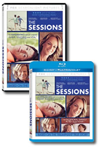 The Sessions on DVD Blu-ray today