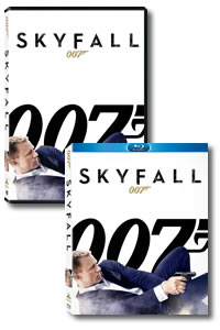 Skyfall on DVD Blu-ray today