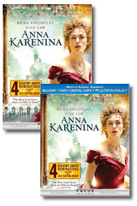 Anna Karenina on DVD Blu-ray today