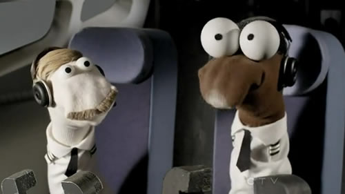 Flight sock puppet parody 2013 Oscars